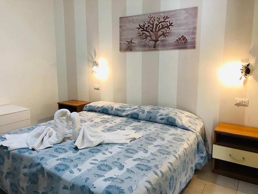 Rooms of the Hotel La Rosetta: Hotels in Minturno, Hotels in Italy